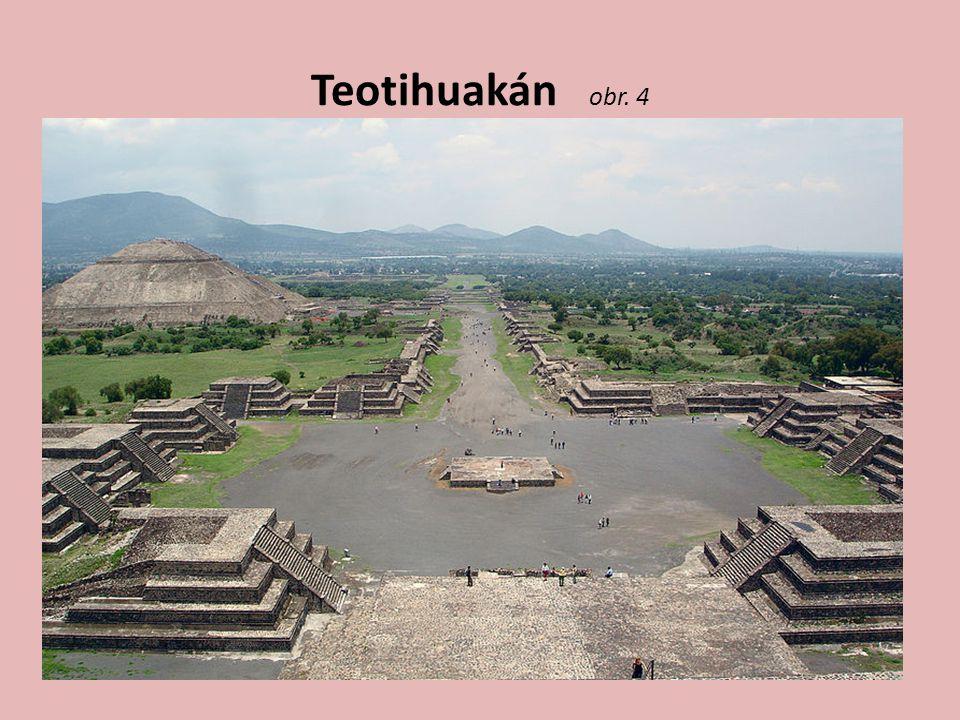 Teotihuakán obr. 4