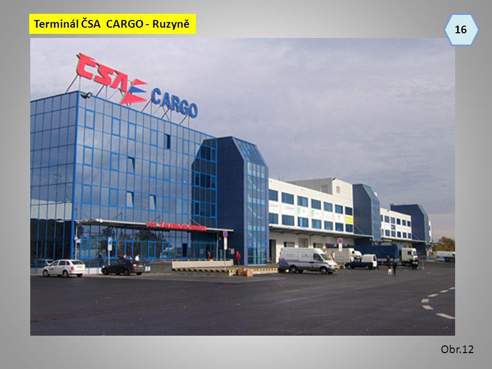 Terminál ČSA CARGO - Ruzyně 16