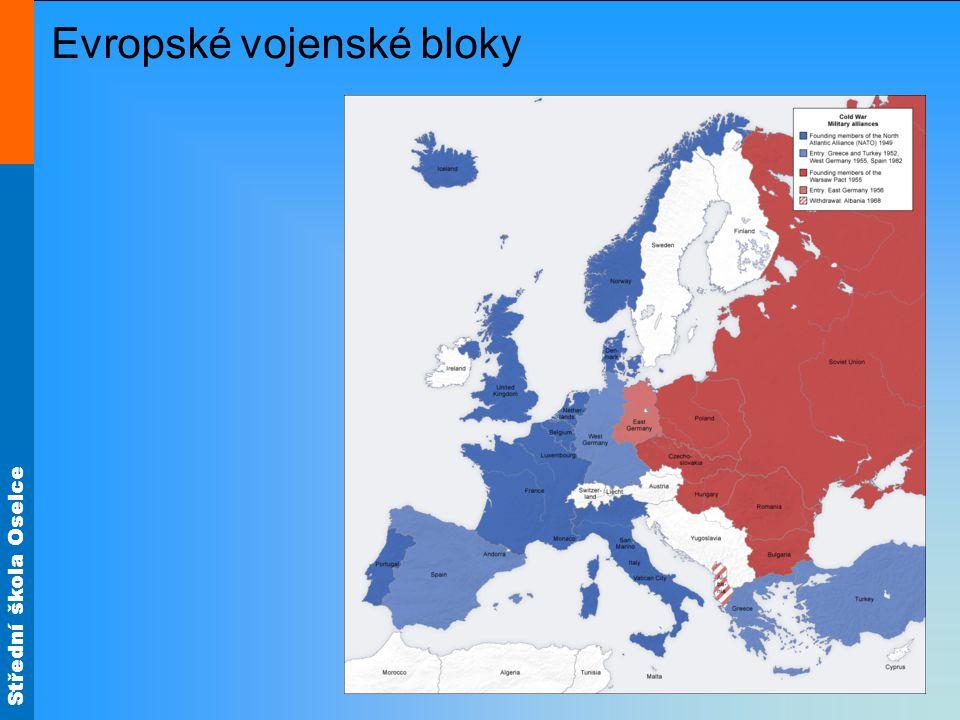Evropské vojenské bloky