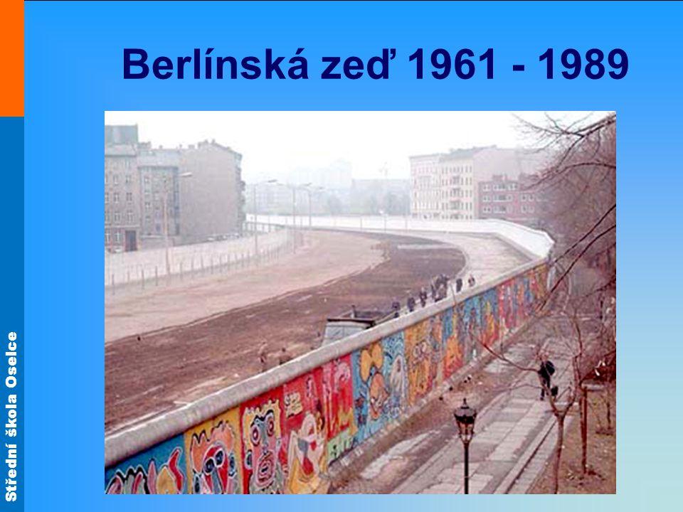 Berlínská zeď 1961 - 1989