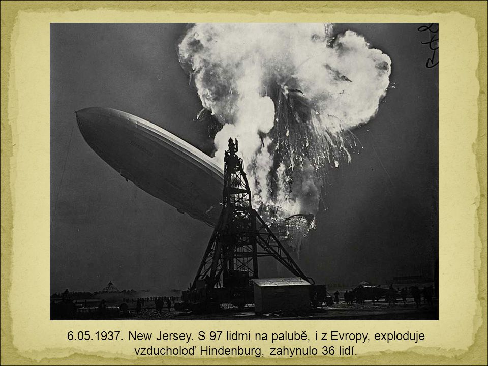 6.05.1937. New Jersey.