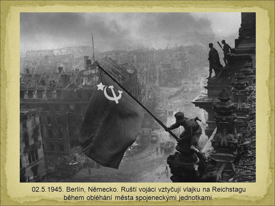 02.5.1945. Berlín, Německo.