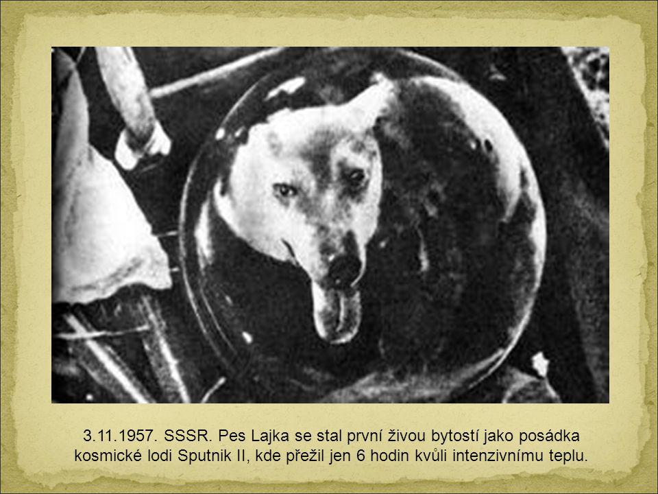 3.11.1957. SSSR.