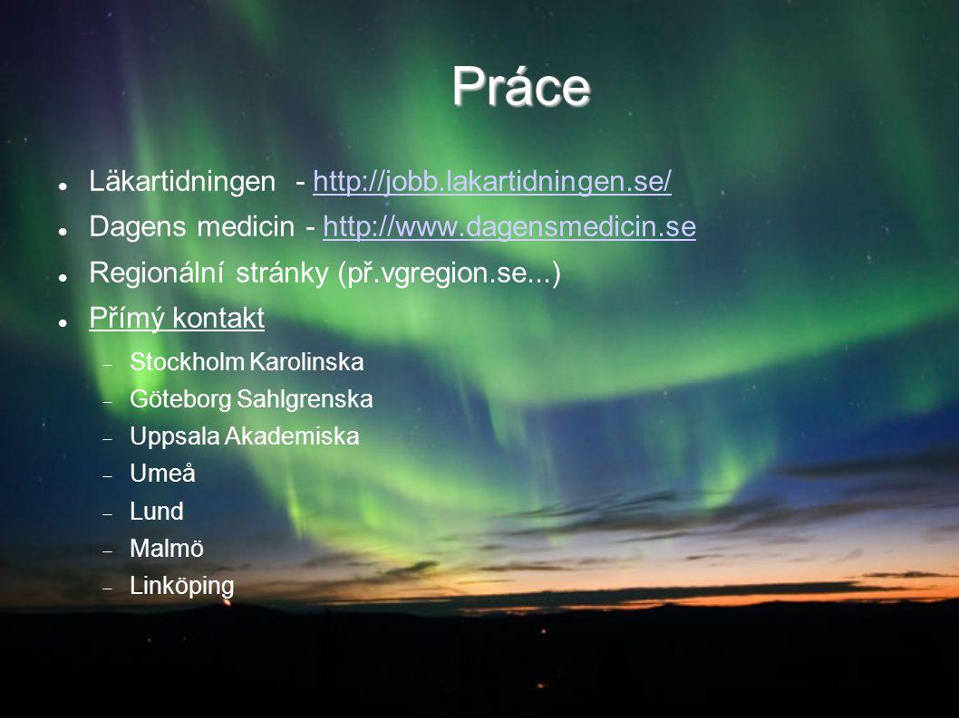 Práce Läkartidningen - http://jobb.lakartidningen.se/