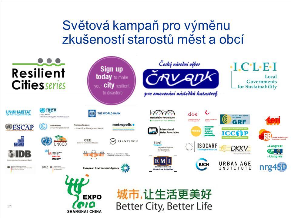 Světová kampaň pro výměnu zkušeností starostů měst a obcí