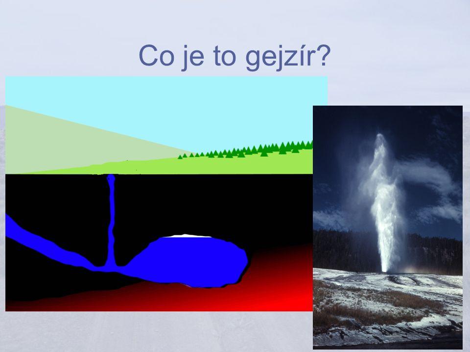Co je to gejzír