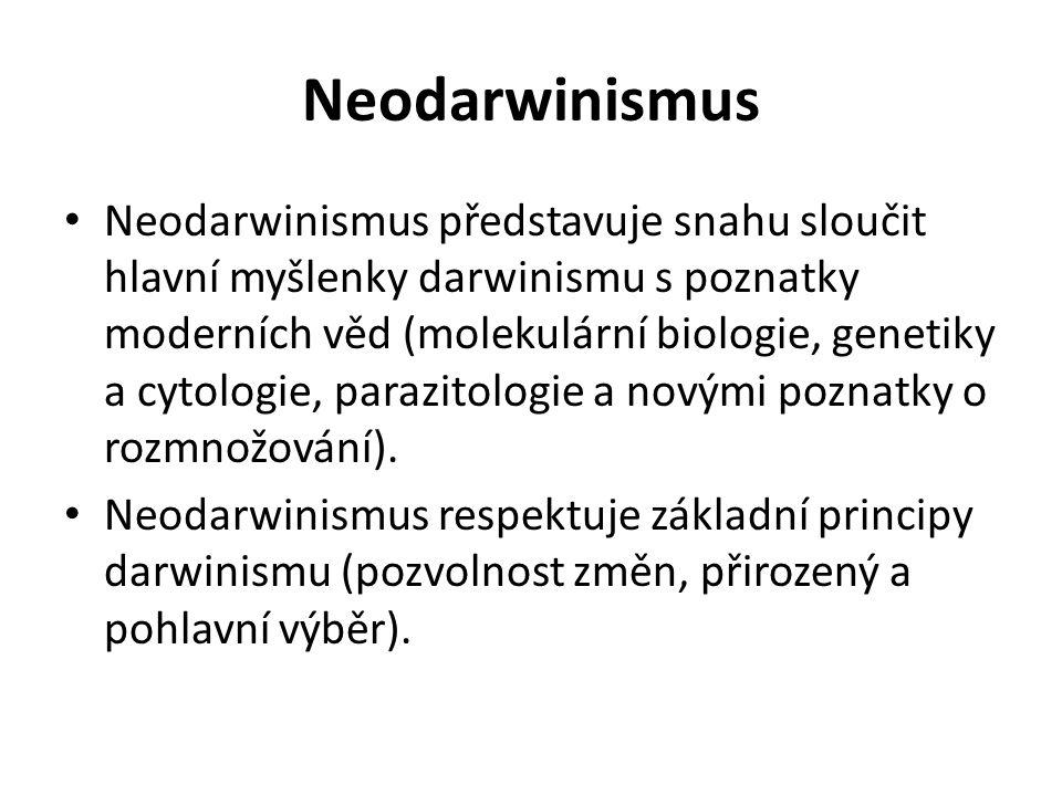 Neodarwinismus