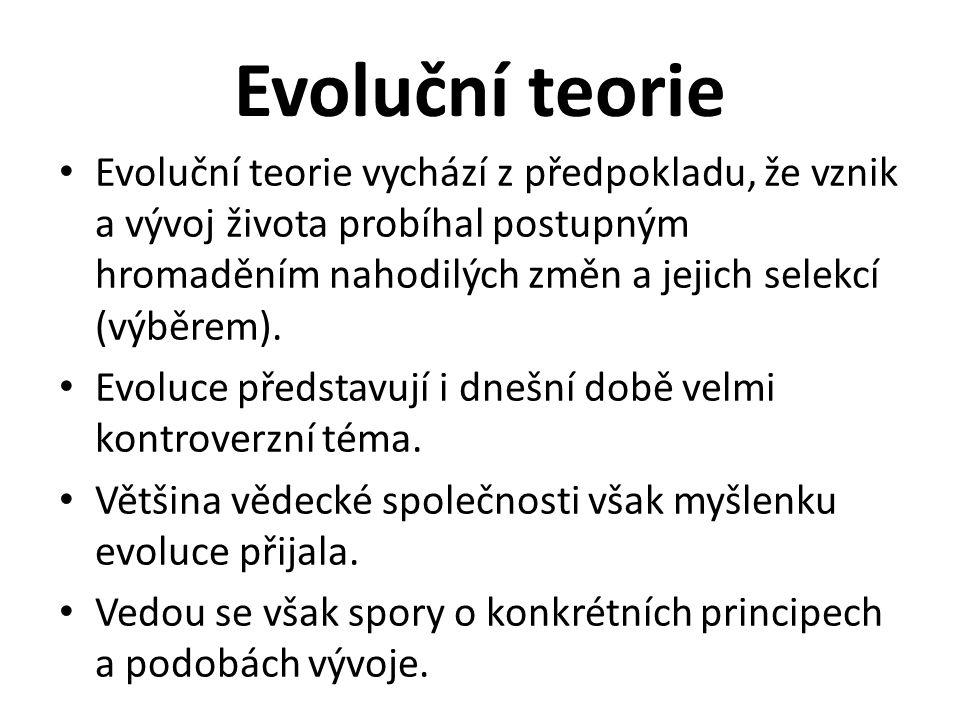 Evoluční teorie