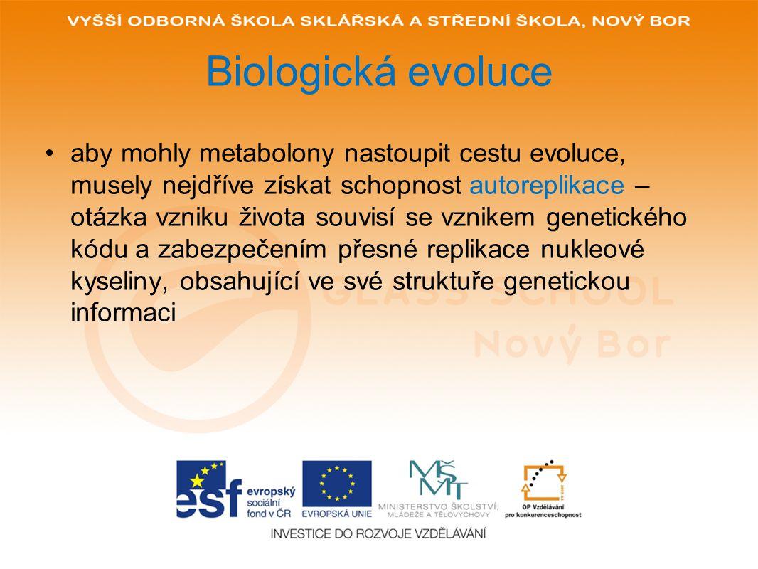 Biologická evoluce