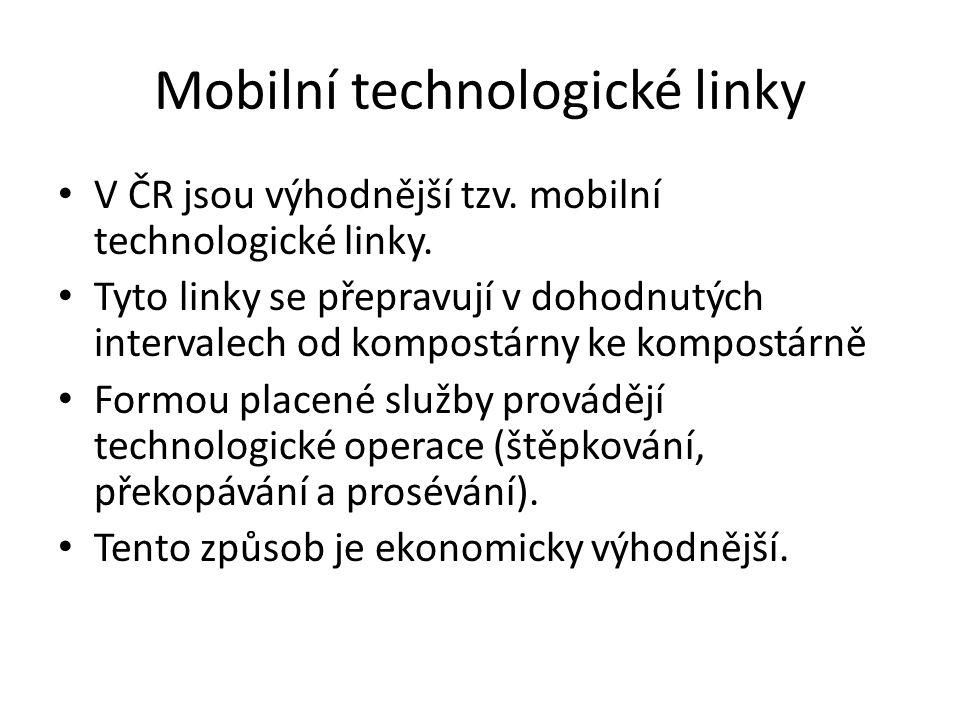 Mobilní technologické linky