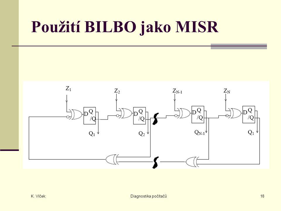 Použití BILBO jako MISR