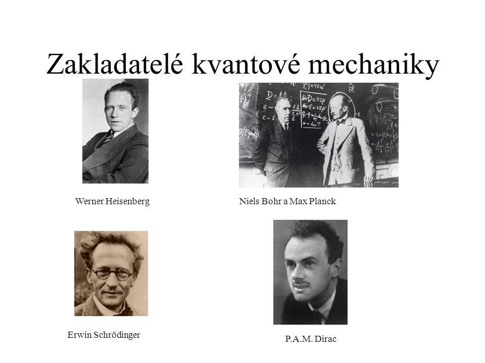 Zakladatelé kvantové mechaniky