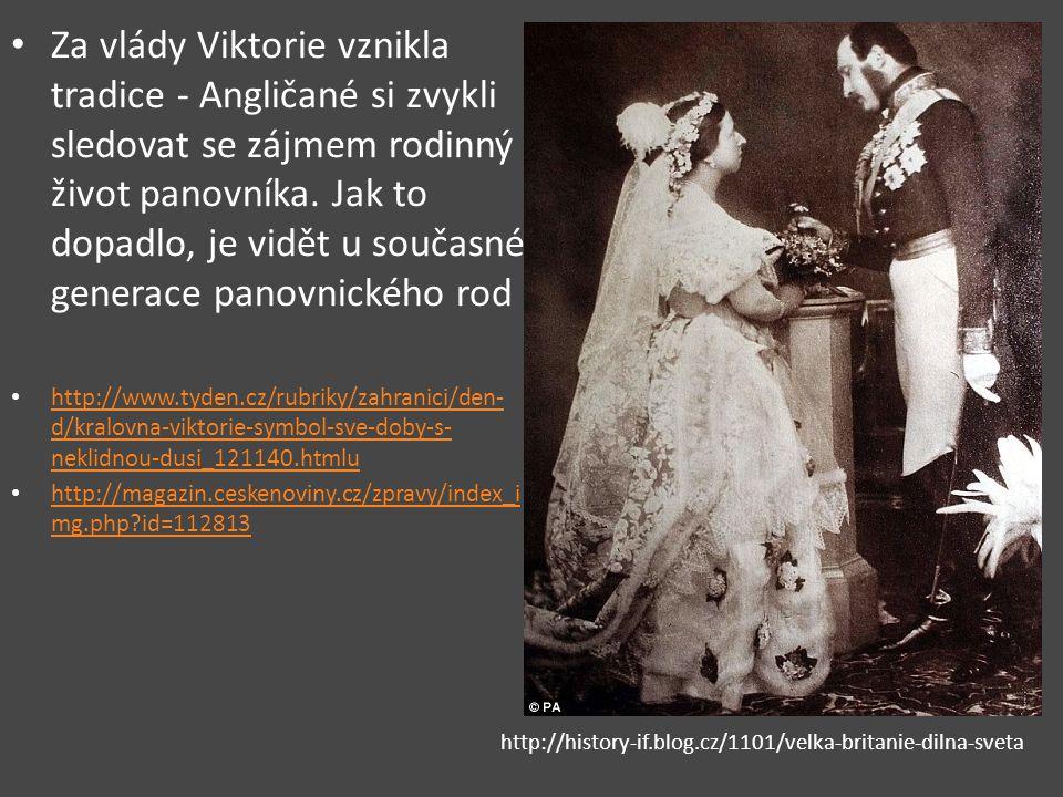 Za vlády Viktorie vznikla tradice - Angličané si zvykli sledovat se zájmem rodinný život panovníka. Jak to dopadlo, je vidět u současné generace panovnického rod