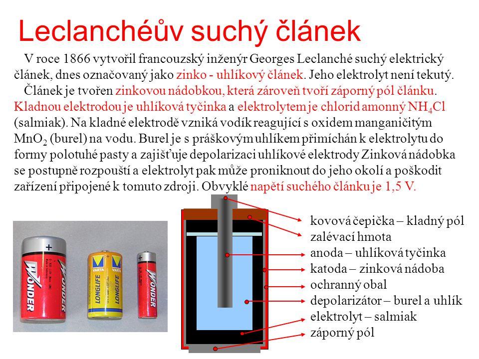 Leclanchéův suchý článek