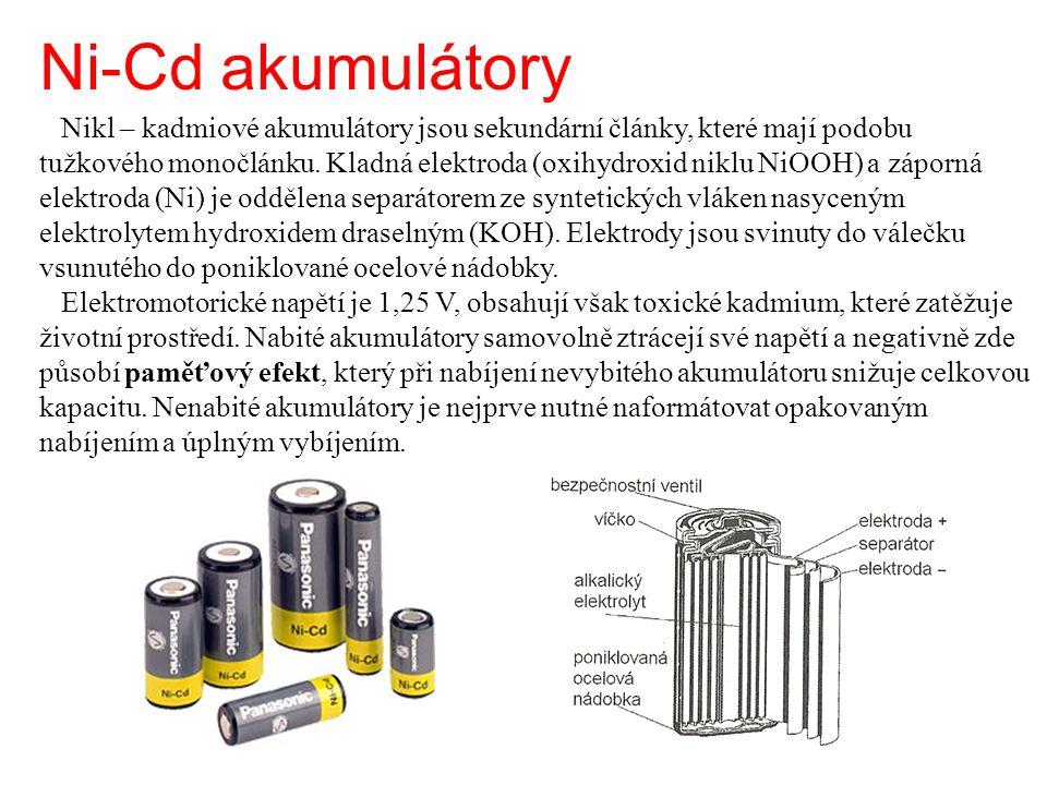 Ni-Cd akumulátory