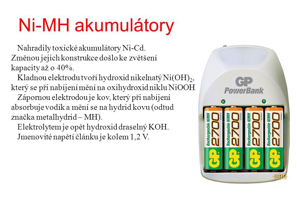 Ni-MH akumulátory