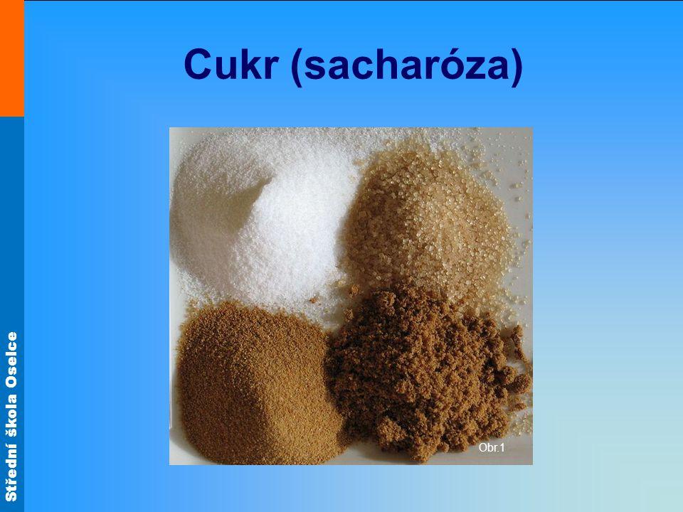 Cukr (sacharóza) Obr.1