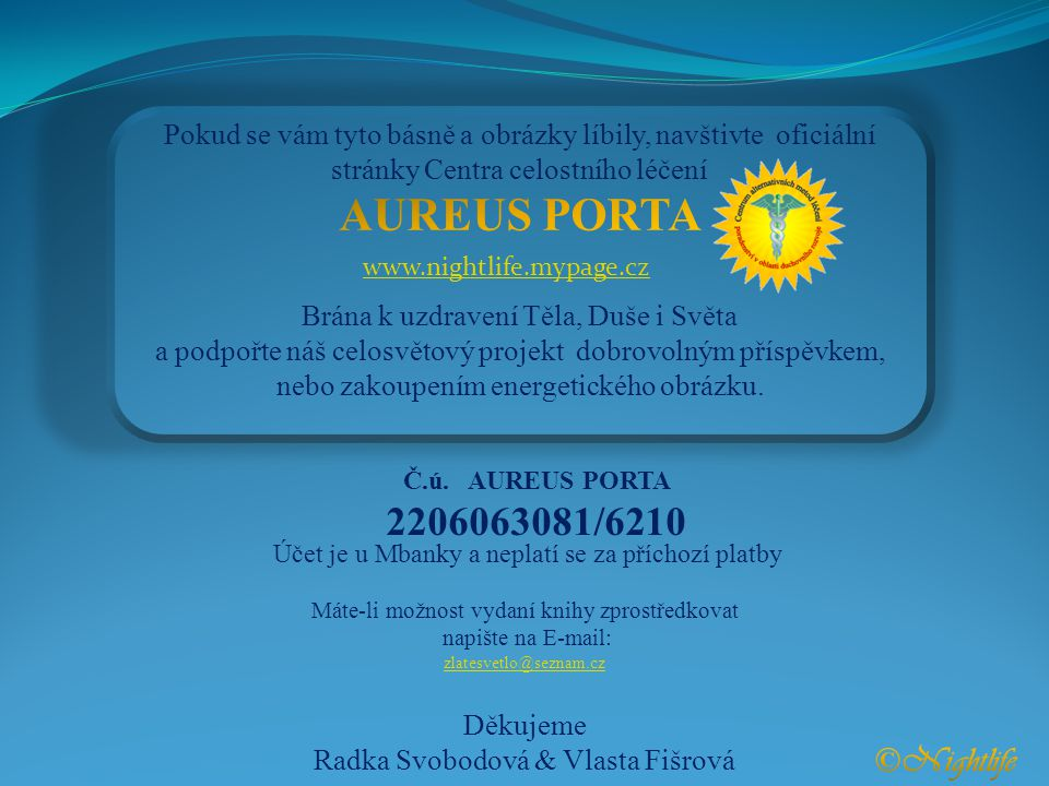 AUREUS PORTA ©Nightlife