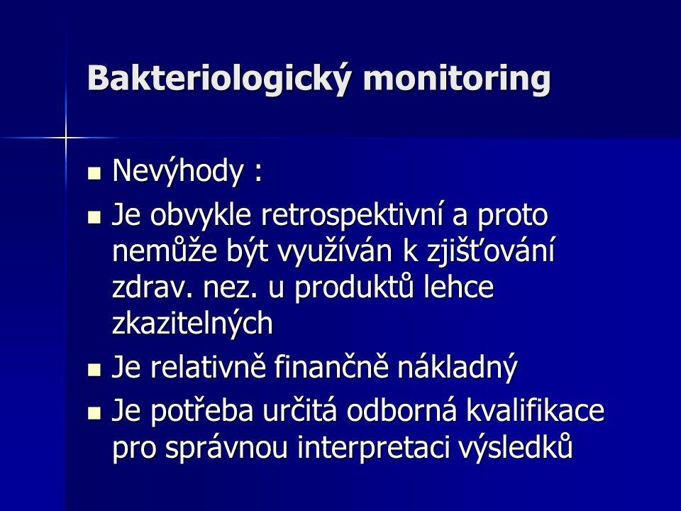 Bakteriologický monitoring