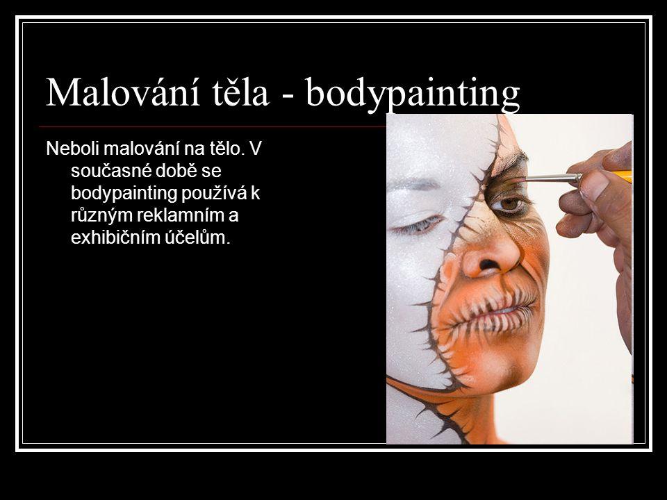 Malování těla - bodypainting