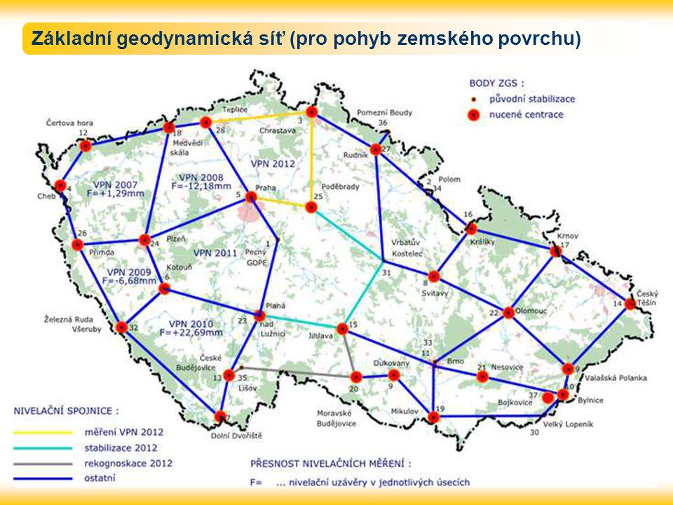 Základní geodynamická síť (pro pohyb zemského povrchu)