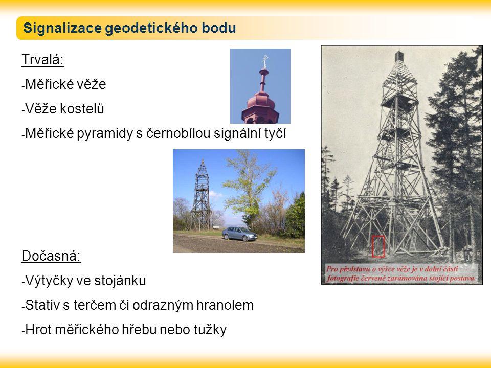 Signalizace geodetického bodu