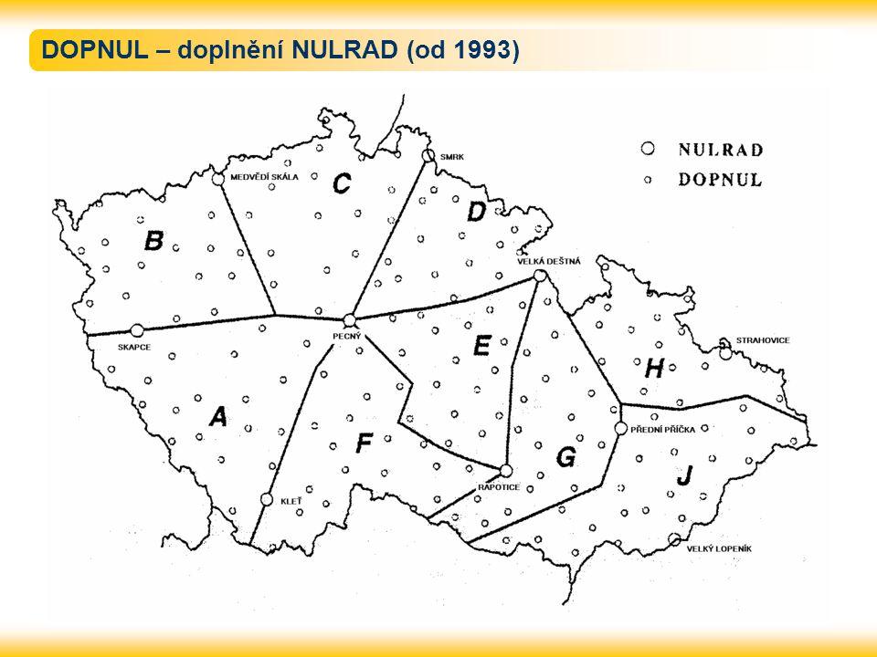 DOPNUL – doplnění NULRAD (od 1993)