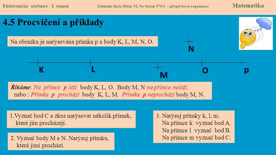 4.5 Procvičení a příklady N K L O p M
