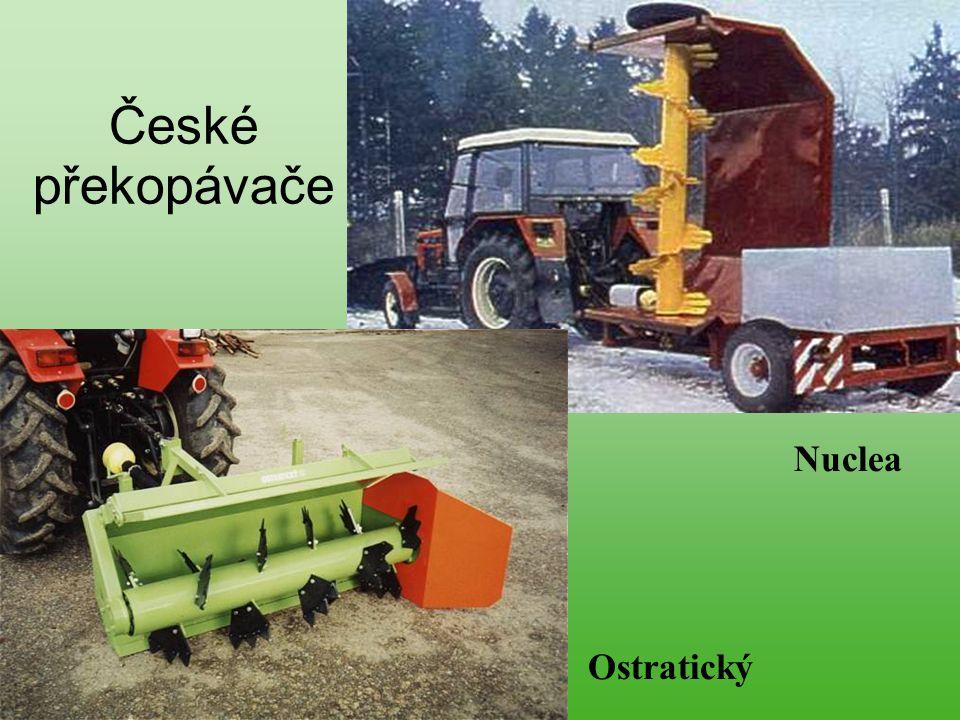 České překopávače Nuclea Ostratický