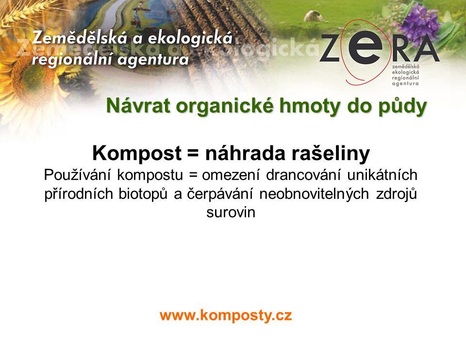 Kompost = náhrada rašeliny