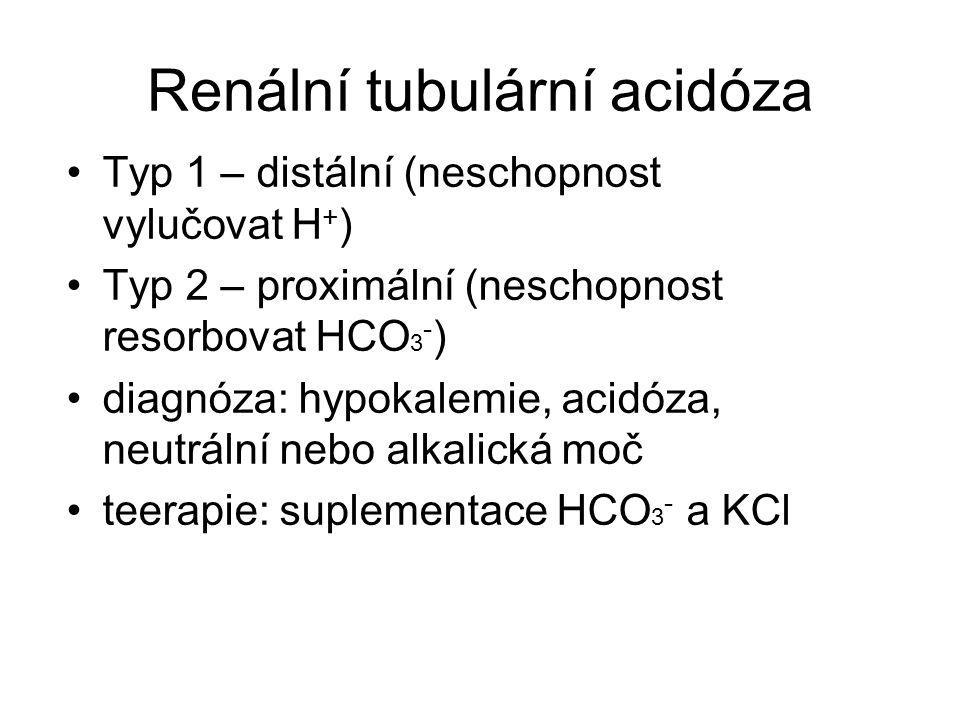 Renální tubulární acidóza