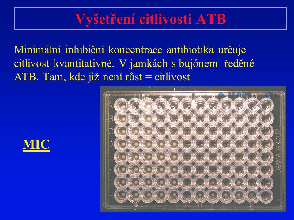 Vyšetření citlivosti ATB