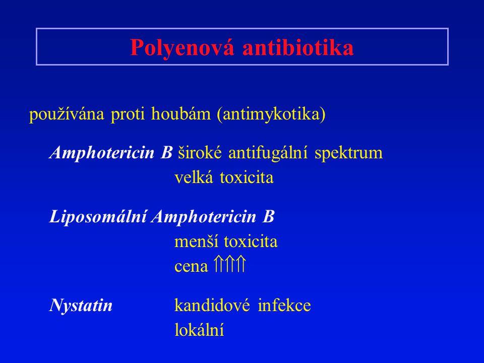 Polyenová antibiotika