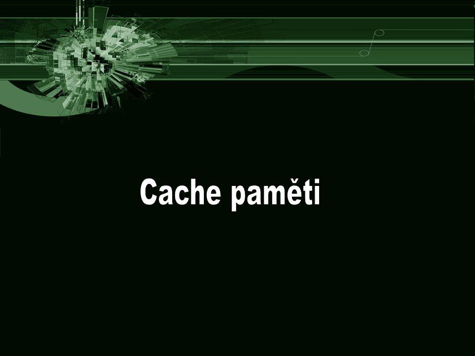 Cache paměti