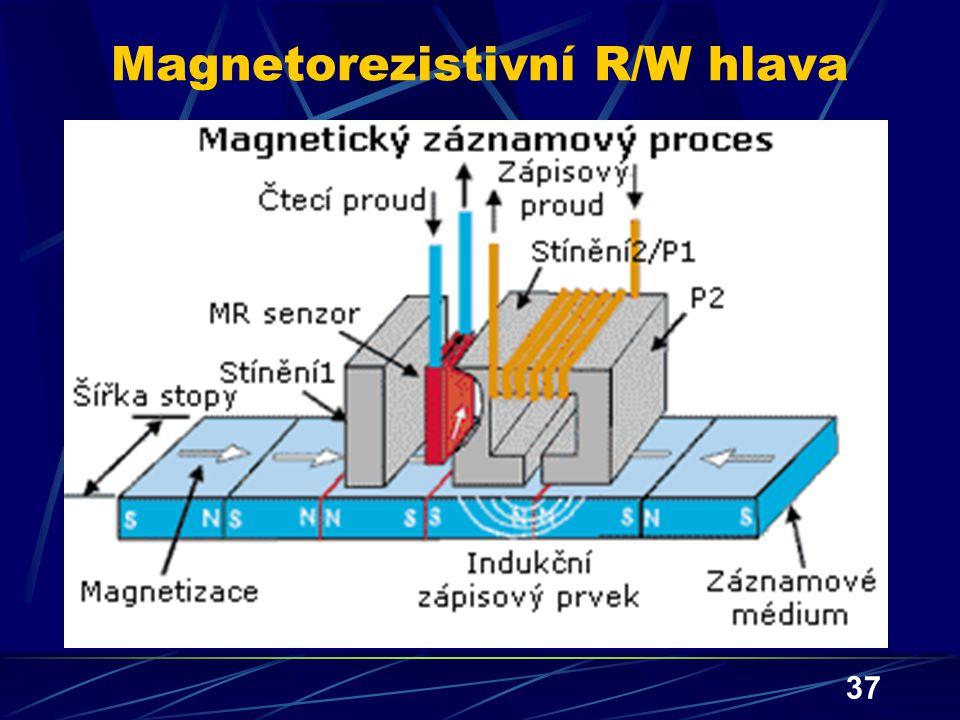 Magnetorezistivní R/W hlava