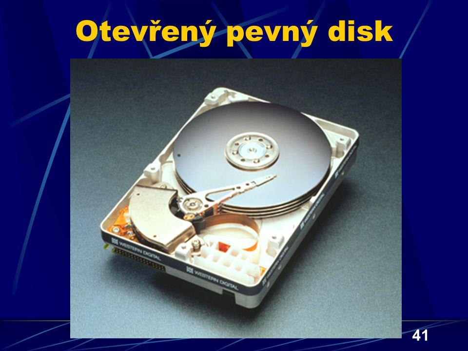Otevřený pevný disk