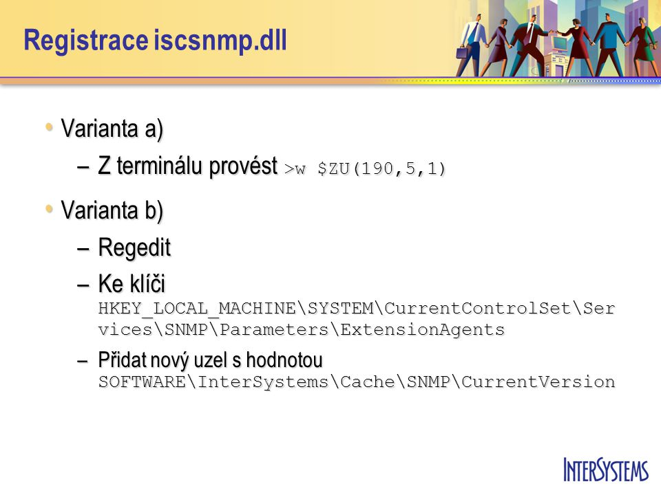 Registrace iscsnmp.dll