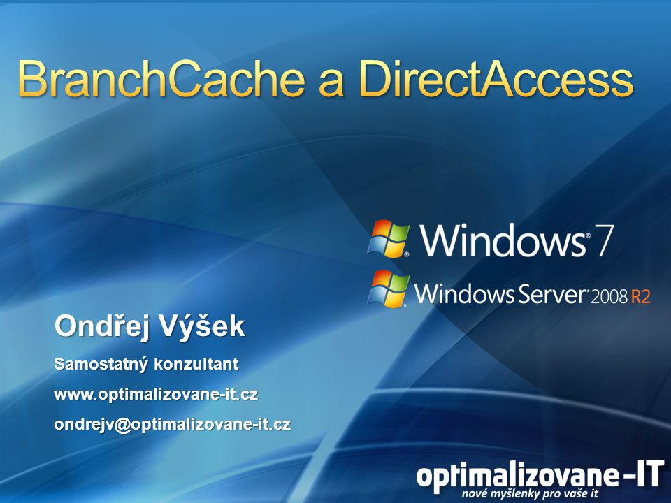 BranchCache a DirectAccess