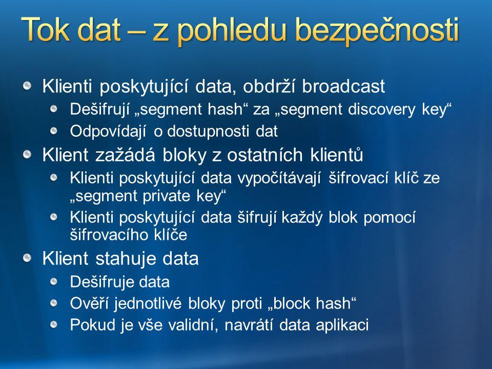 Tok dat – z pohledu bezpečnosti