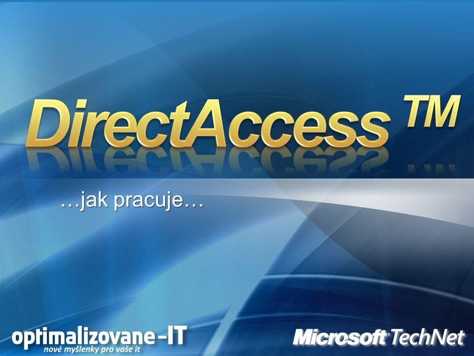 DirectAccess TM …jak pracuje…
