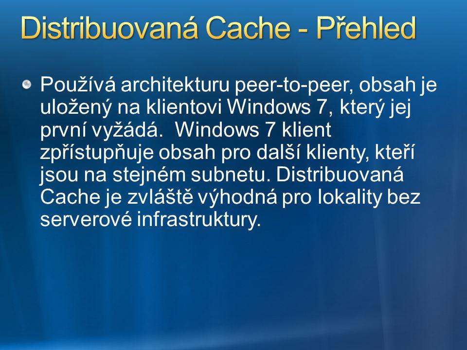 Distribuovaná Cache - Přehled