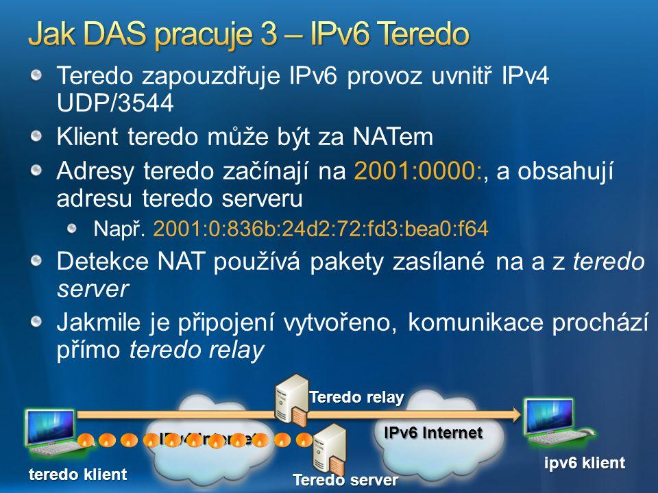 Jak DAS pracuje 3 – IPv6 Teredo