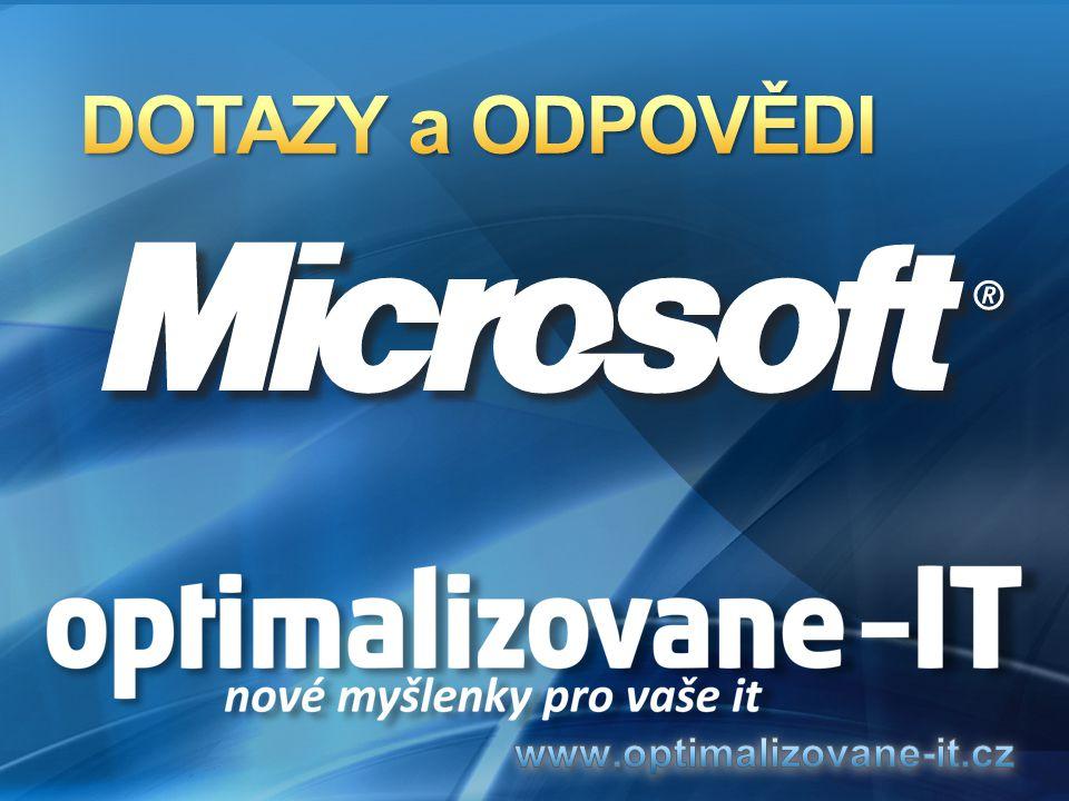 DOTAZY a ODPOVĚDI www.optimalizovane-it.cz