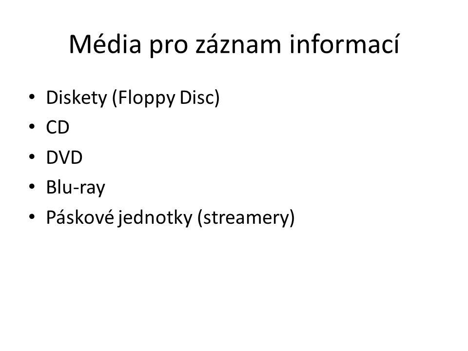 Média pro záznam informací