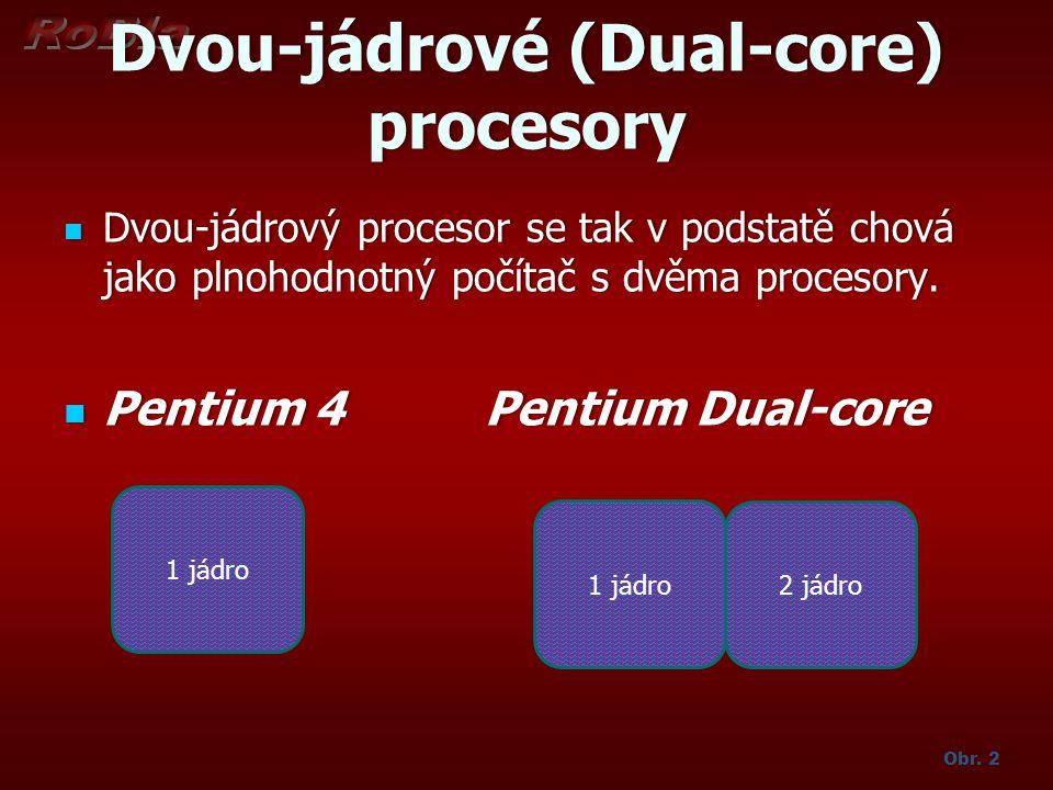 Dvou-jádrové (Dual-core) procesory