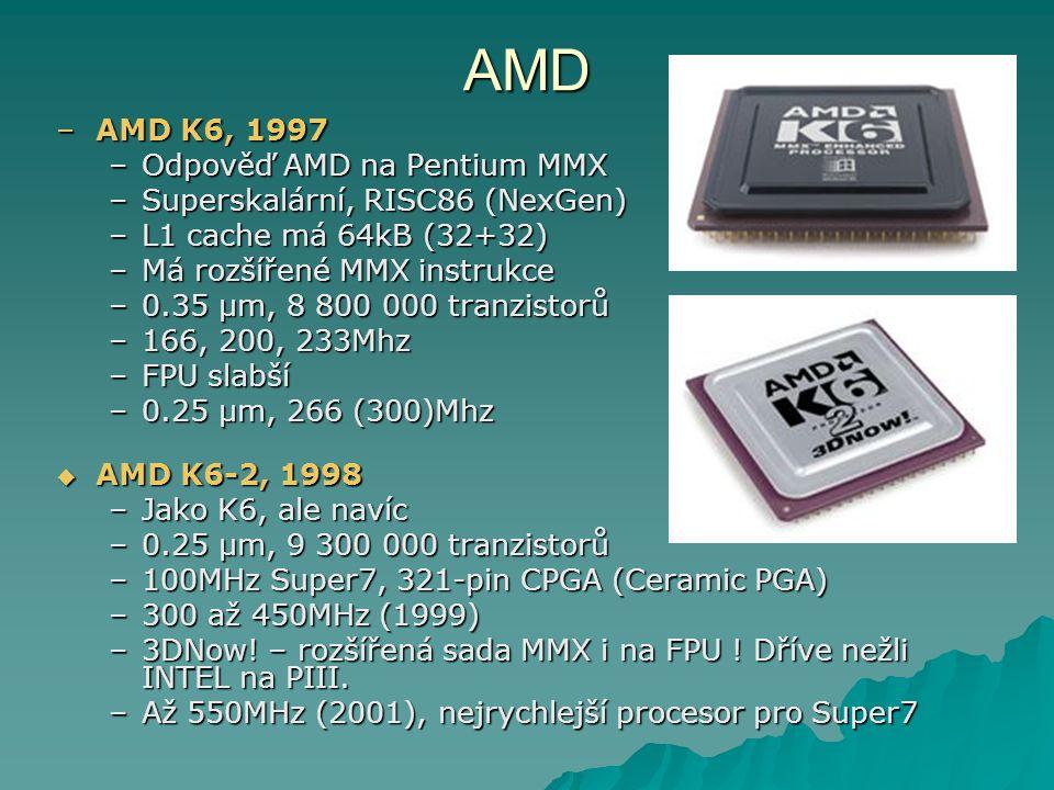 AMD AMD K6, 1997 Odpověď AMD na Pentium MMX