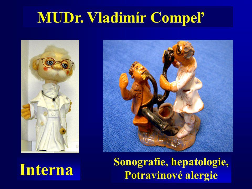 Sonografie, hepatologie,