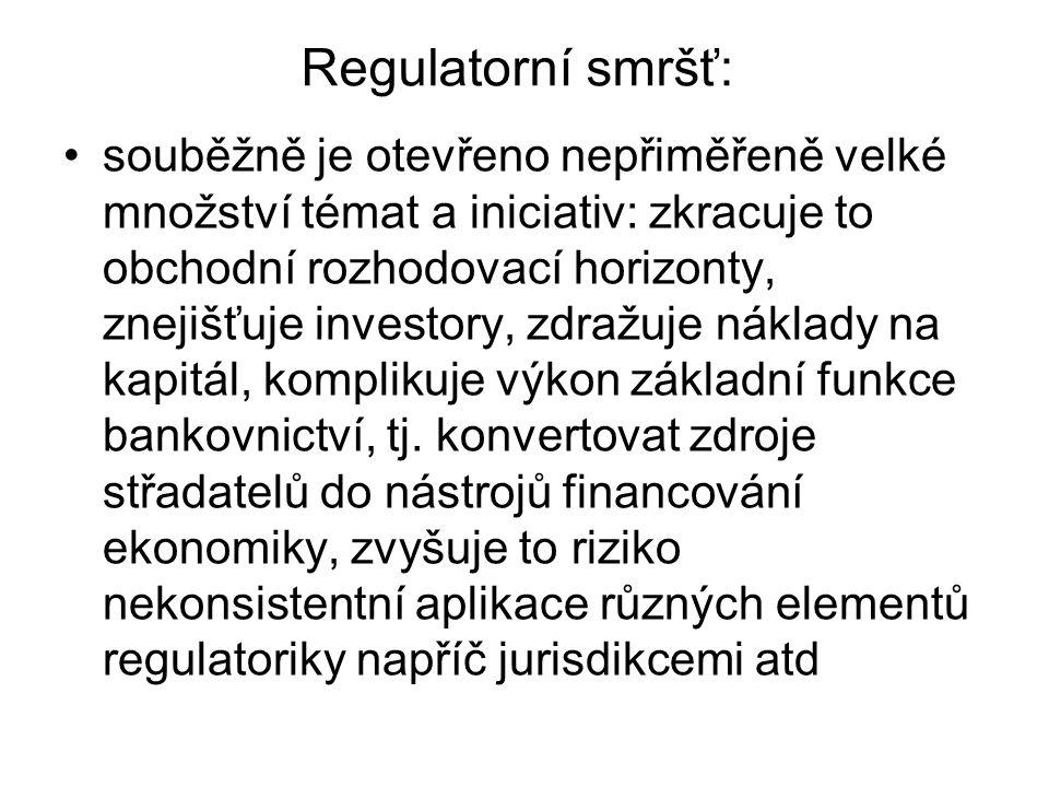 Regulatorní smršť: