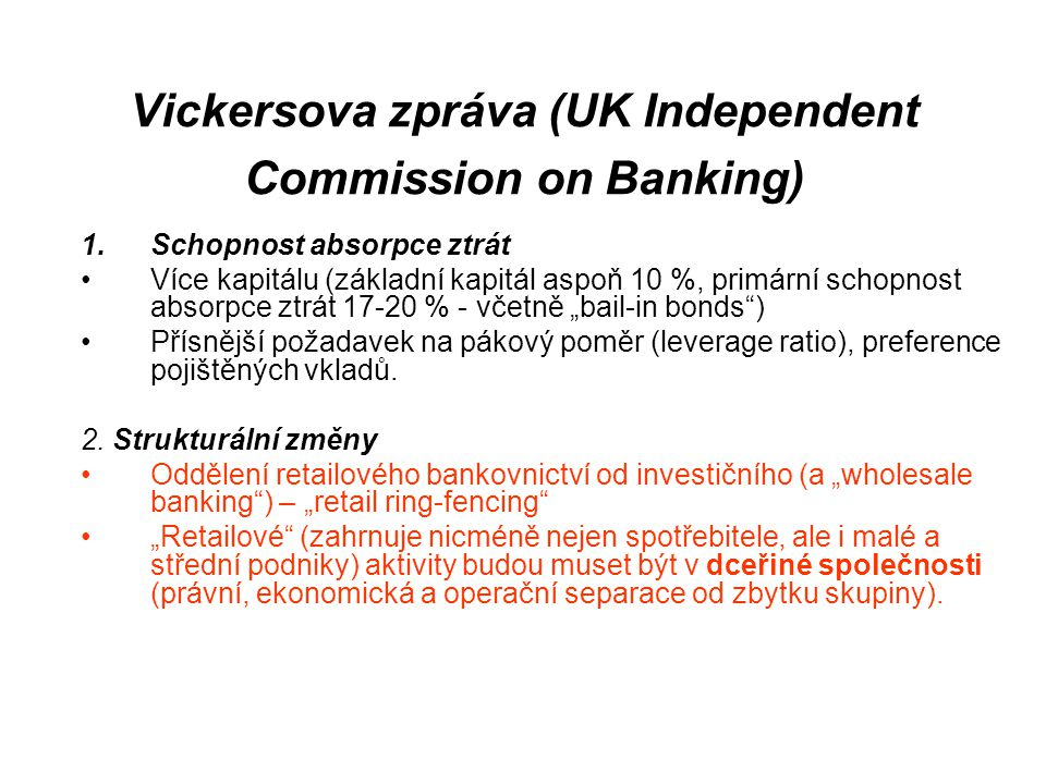 Vickersova zpráva (UK Independent Commission on Banking)