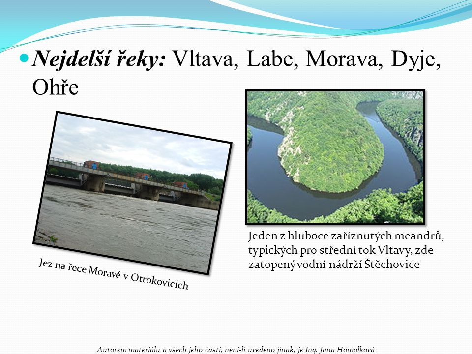 Jez na řece Moravě v Otrokovicích